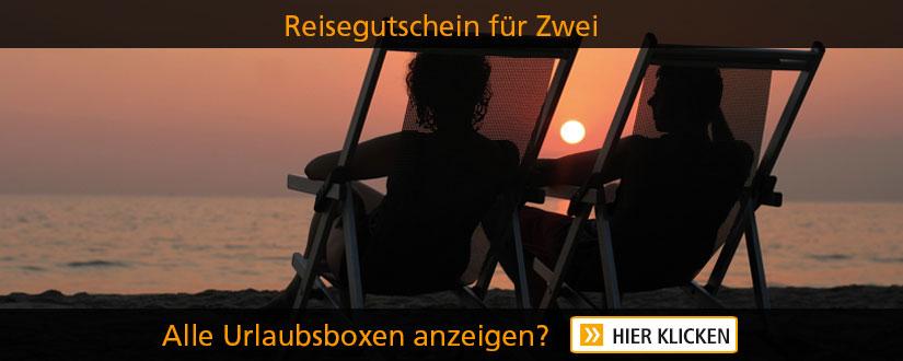 Reise Gutschein - Wellness-Kurzurlaub für 2