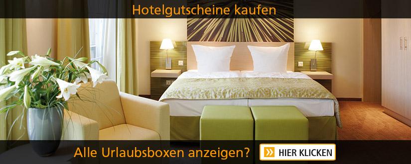 Hotelgutscheine günstig kaufen - bei Urlaubsbox